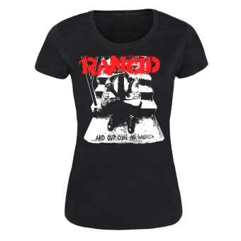 "Rancid ""Wolves"" Girly-Shirt"