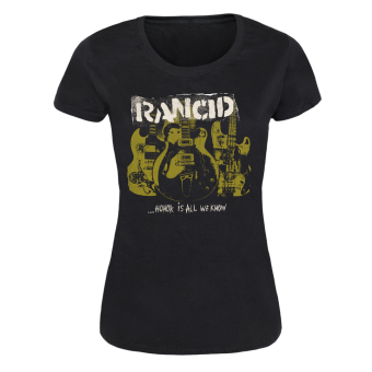 "Rancid ""Honor is All we know"" Girly-Shirt"