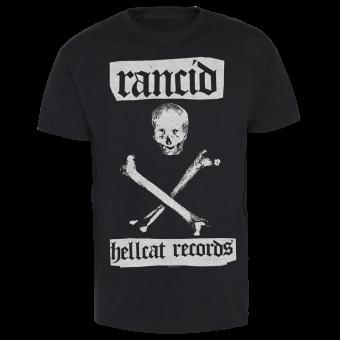 """Rancid """"Hellcat Skull"""" T-Shirt"""