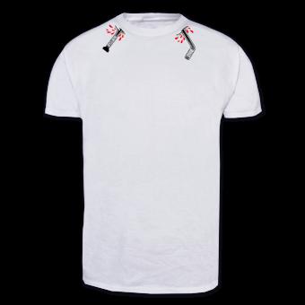 """Slapshot """"Sticks"""" T-Shirt"""