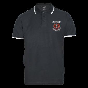 "Slapshot ""Crest"" Polo Shirt"