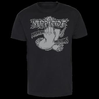 """Yuppicide """"Oblivion - Grey"""" T-Shirt"""