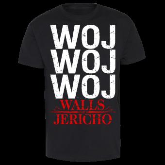 "Walls of Jericho ""WOJWOJWOJ"" T-Shirt"