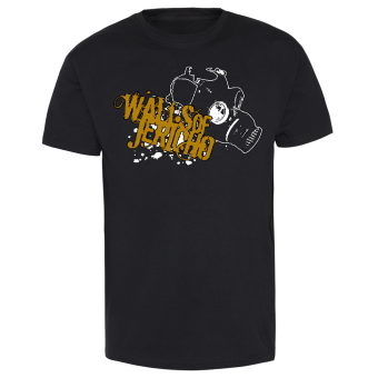 "Walls of Jericho ""Gasmask"" T-Shirt"