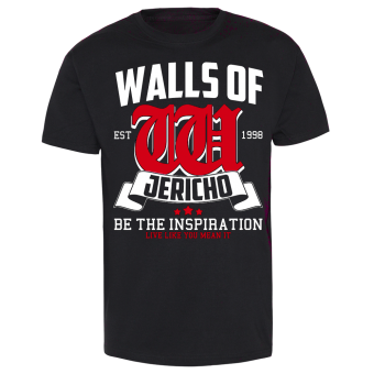 "Walls of Jericho ""Inspiration"" T-Shirt"