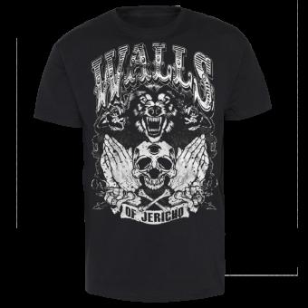 """Walls of Jericho """"Wolf"""" T-Shirt"""