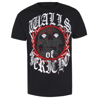 "Walls of Jericho ""Diamons Skull"" T-Shirt"