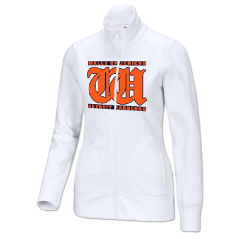 "Walls of Jericho ""Detroit"" Girly Track Jacket (white) (L)"