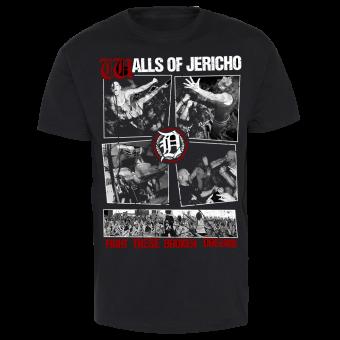 """Walls of Jericho """"Broken Dreams"""" T-Shirt"""