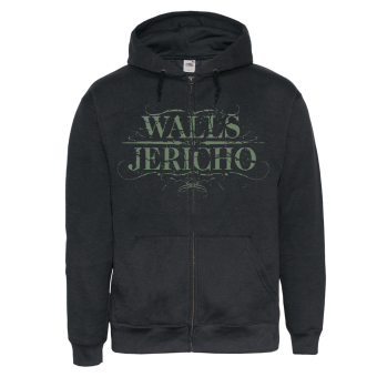 "Walls of Jericho ""Chainsaw"" Zip Hoody"
