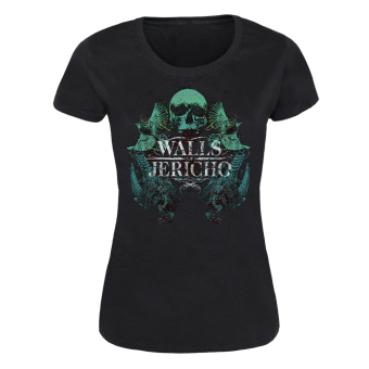 "Walls of Jericho ""Birds"" Girly-Shirt"