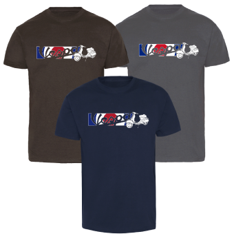 "Vespa ""Mod"" T-Shirt (farbig)"