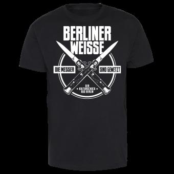 """Berliner Weisse """"Die Messer sind gewetzt"""" T-Shirt"""