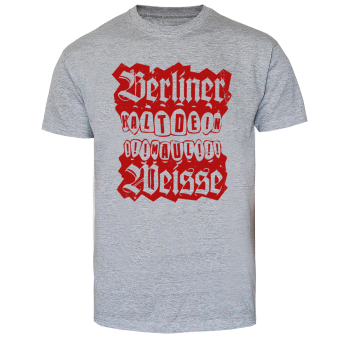 """Berliner Weisse """"Halt Dein Maul"""" T-Shirt (grey)"""
