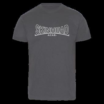 """Skinhead """"A.C.A.B."""" T-Shirt (graphit)"""