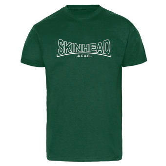 "Skinhead ""A.C.A.B."" T-Shirt (bottle green)"