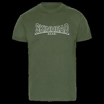 """Skinhead """"A.C.A.B."""" T-Shirt (oliv)"""