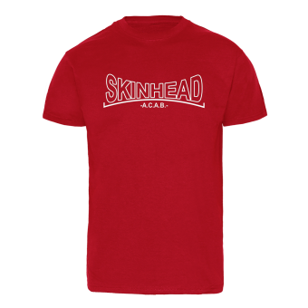 "Skinhead ""A.C.A.B."" T-Shirt (red)"