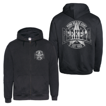"Perkele ""Punk Rock Army 2"" Zip Hoodie (black)"