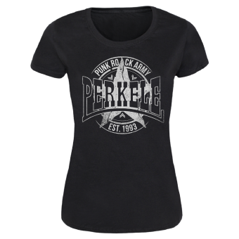 "Perkele ""Punk Rock Army 2"" Girl-Shirt (black)"