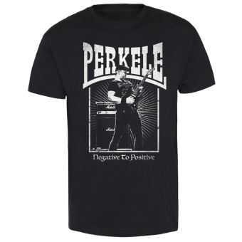 "Perkele ""Negative to positive"" T-Shirt (black)"