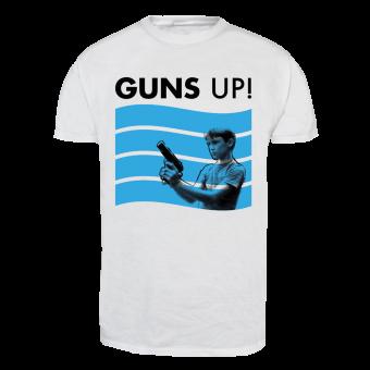 "Guns Up! ""Waves"" T-Shirt (white)"