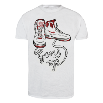 "Guns Up! ""Shoes"" T-Shirt (white)"