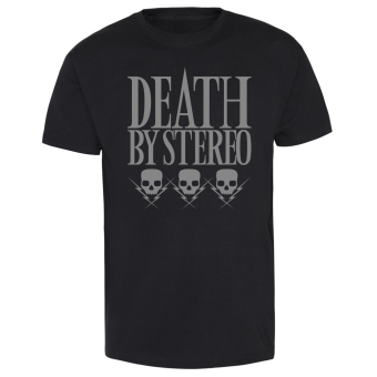 "Death By Stereo ""3 Skulls"" T-Shirt"