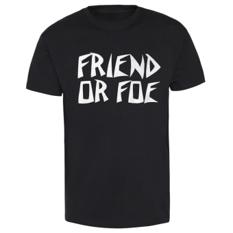 "Friend Or Foe ""Suicidal"" T-Shirt weiss 