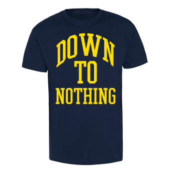 """Down To Nothing """"Revelation Star"""" T-Shirt (navy) weiss 