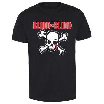 "Blood For Blood ""Skull"" T-Shirt weiss 