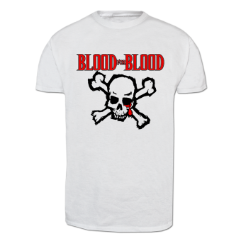 "Blood For Blood ""Skull"" T-Shirt (white) weiss 