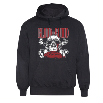 "Blood For Blood ""Wasted Youth Crew"" Hoodie schwaz 