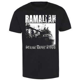 "Ramallah ""Strike down a God"" T-Shirt weiss 