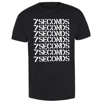 "7 Seconds ""Logo"" T-Shirt weiss 