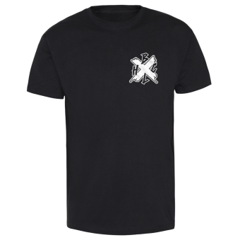 "Born Low ""Stomping"" T-Shirt schwarz   XL"