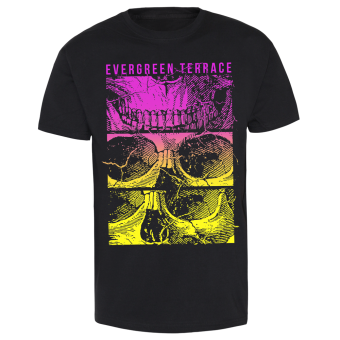 "Evergreen Terrace ""Split Skull 3C"" T-Shirt schwarz 
