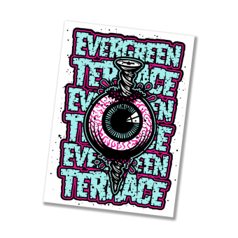 "Evergreen Terrace ""Eyeball"" Sticker"