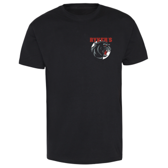 "Rykers ""Panther"" T-Shirt schwarz 