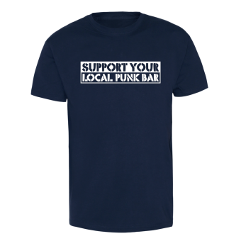 Support your local Punk-Bar - T-Shirt (navy) schwarz | XL