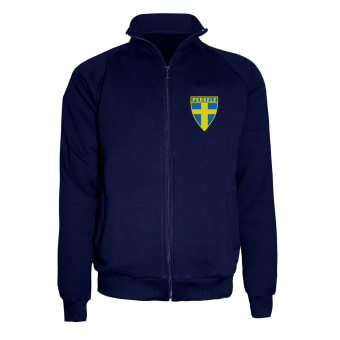 "Perkele ""Football Sweden"" Sweatjacke (navy)"