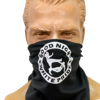 """Good Night White Pride"" Bandana / Dreieckstuch"