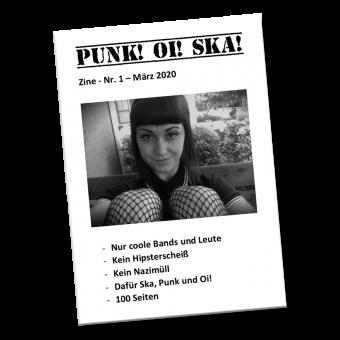 Punk! Oi! Ska! #1 - Fanzine (D) (A5, b/w)