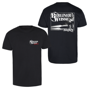 "Berliner Weisse ""Dämonen"" T-Shirt schwarz | XL"