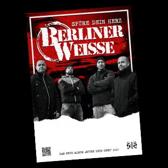 "Berliner Weisse ""Spüre dein Herz"" - Poster (folded) (DIN A1)"