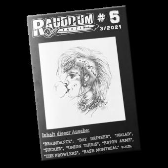 Rauditum #5 - Fanzine (D) (A5, b/w)