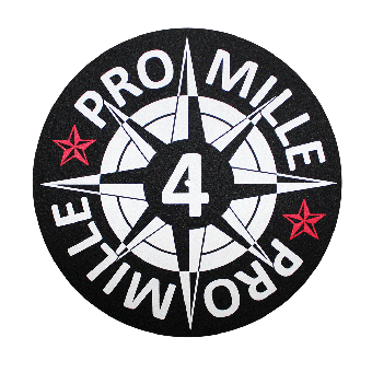 """4 Promille """"Vinyl"""" Slipmat"""