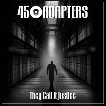 """45 Adapters """"They call it justice"""" EP 7"""" (lim. 500, clear-green splatter) + MP3"""