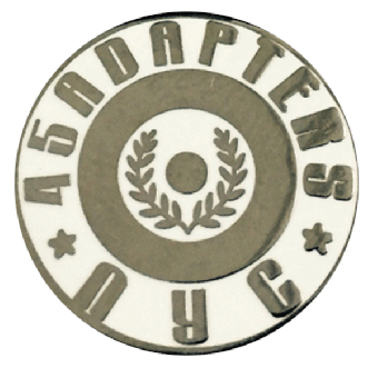 """45 Adapters """"Logo"""" Hartemaille Pin"""