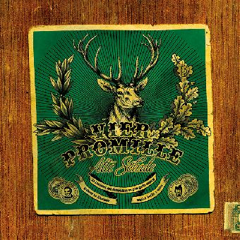 "4 Promille ""Alte Schule"" LP (lim. 500, black)"